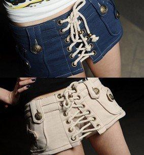 2012 women's fashion vintage coarse strap slim culottes sports casual shorts 711810 PL12062801