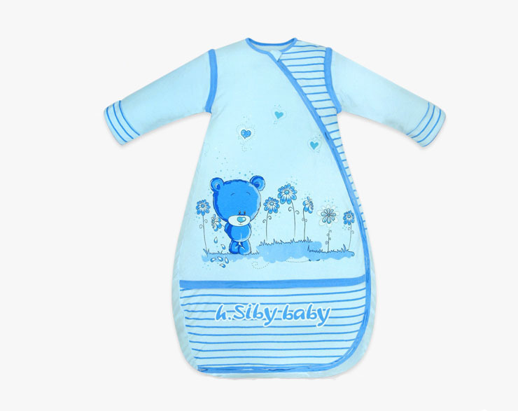 2013 Baby sleeping bags  Autumn and Winter Prevent kick a quilt thickening and lengthening children blanket sleepers
