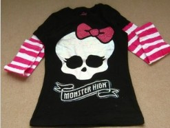 2013 brand new Monter high fashion full sleeves stripe t-shirt many sizes authentic one 100% cotton factory price  new year gift