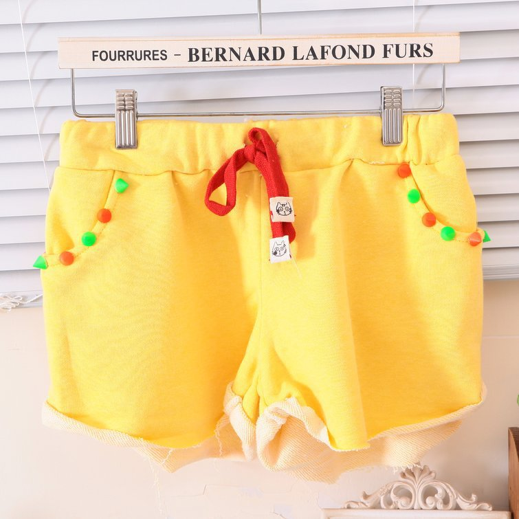 2013 Bright Colors Fahion Sexy Middle Waist Women Cotton Shorts/Hot Pants, 4 Colors, Free Shipping