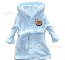 2013 fashion children cloth Autumn new coral fleece boys girls pajamas