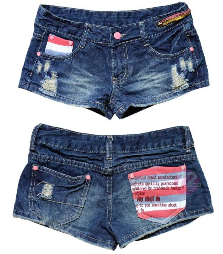 2013 fashion designer women jeans shorts pants lady garment  chaorenge-9095
