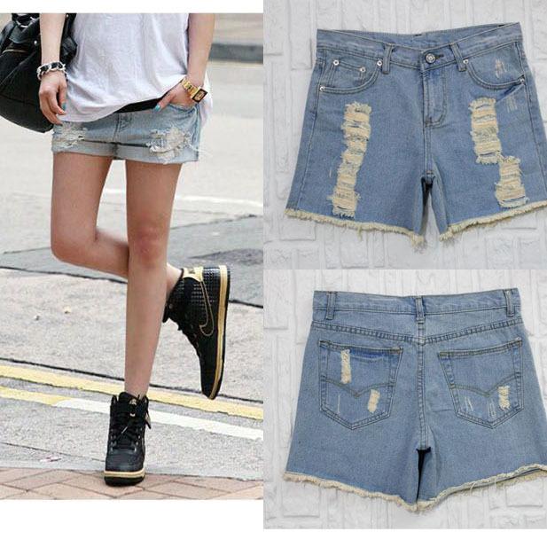 2013 fashion designer women jeans shorts pants lady garment  chaorenge-9098