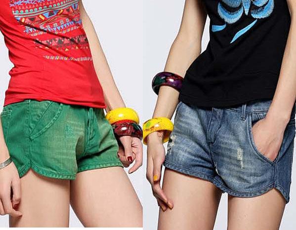 2013 fashion designer women jeans shorts pants lady garment  chaorenge-9148