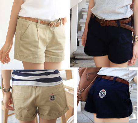 2013 fashion designer women pants trousers lady shorts clothes garment sisouhou-9103