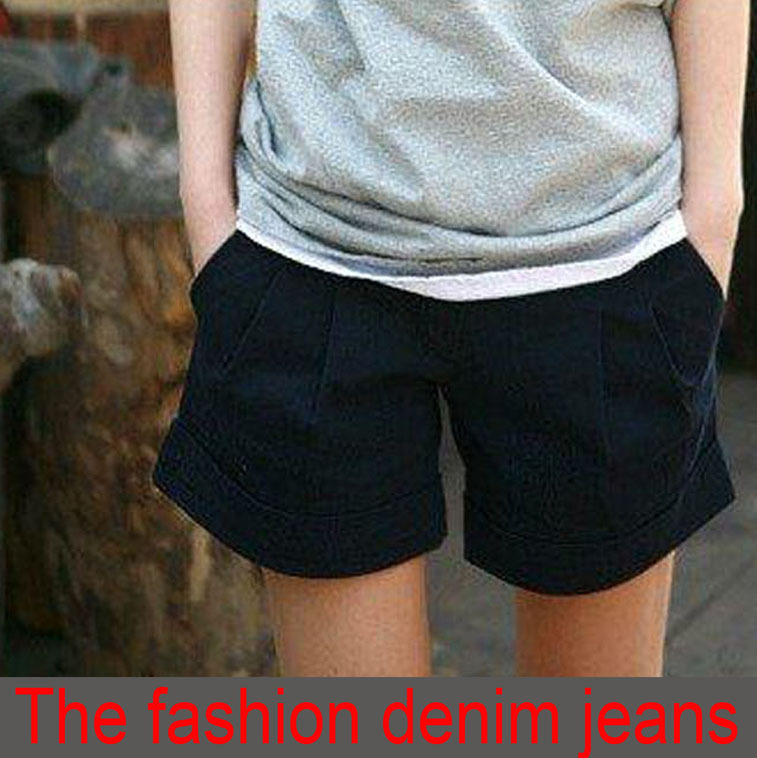 2013 fashion designer women trousers lady shorts pants clothes garment sisouhou-003