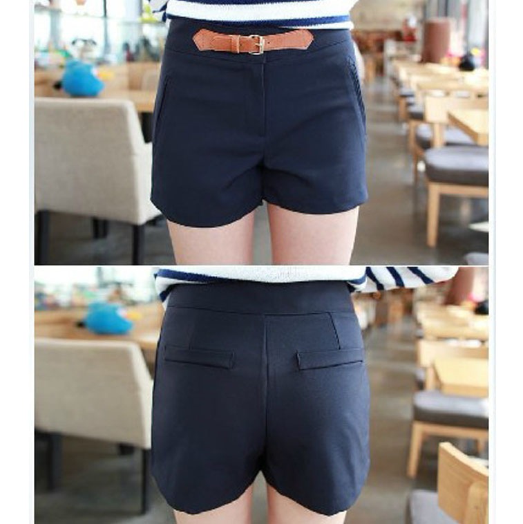 2013 fashion designer women trousers lady shorts pants clothes garment sisouhou-553