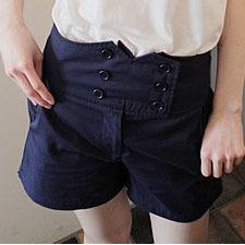 2013 fashion designer women trousers lady shorts pants clothes garment sisouhou-8415