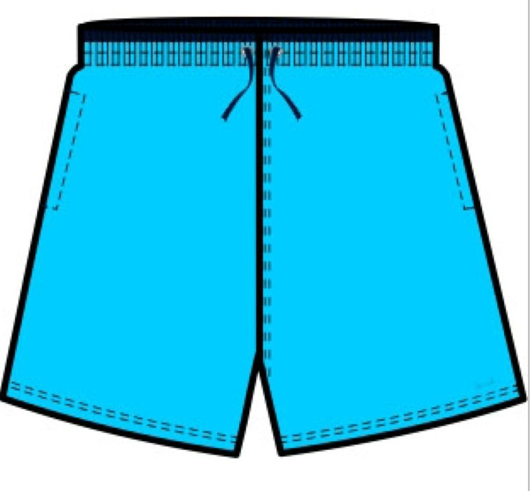 2013 fashion sky blue beach shorts(JC033)