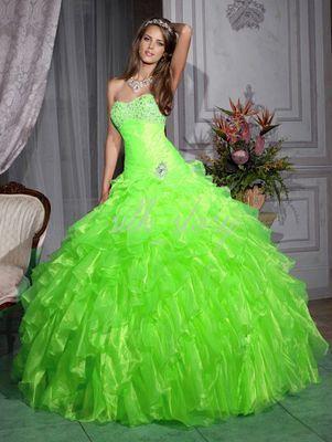 2013 Free Shipping Green A-Line Quinceanera Graduation Wedding/Bridesmaid  Evening Party Dress Custom Made 6 8 10 12 14 16+