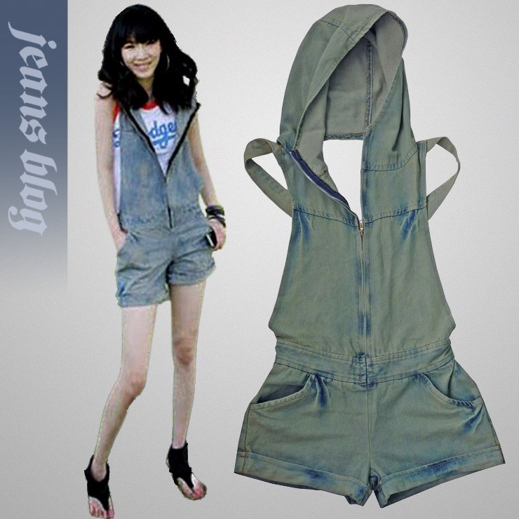 2013 Free Shipping Ladies overalls jumpsuit Fashion  Denim Jeans New Arrival Jeans  9620