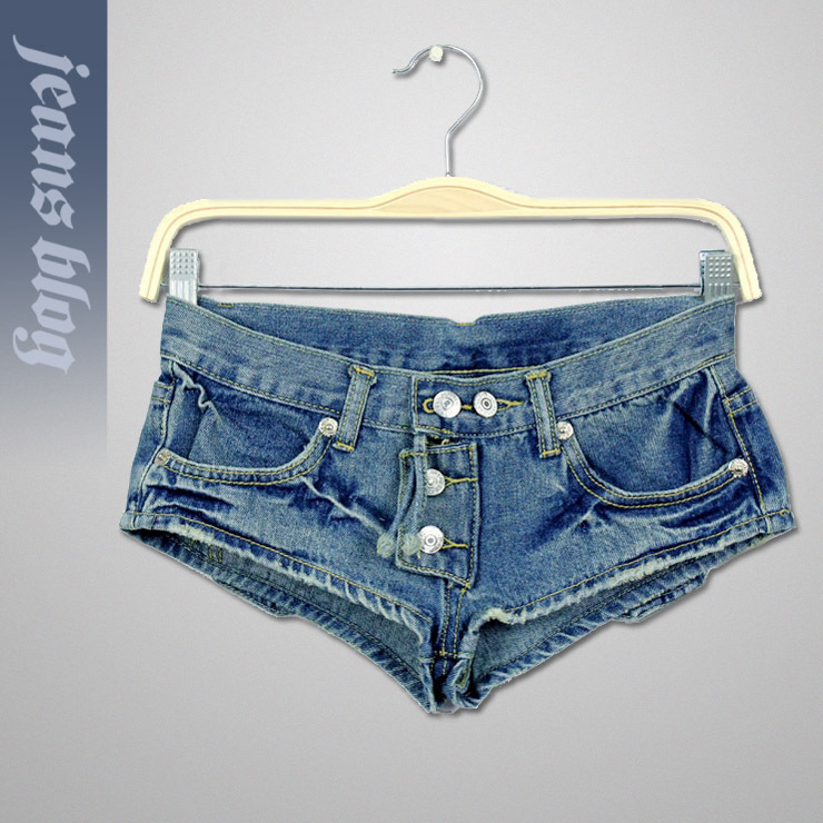 2013 Hot Sale Sexy Ladies Short  Denim Jeans Low  Waist Patchwork Pants  Free Shipping 9286
