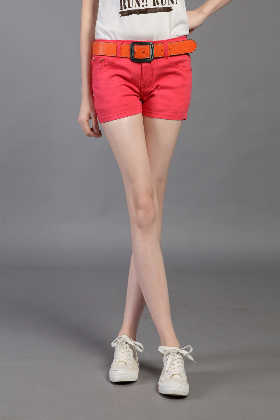 2013 Ladies fashion short jeans candy colors pants for woman female summer short trousers red,black,green,blue Free Shipping