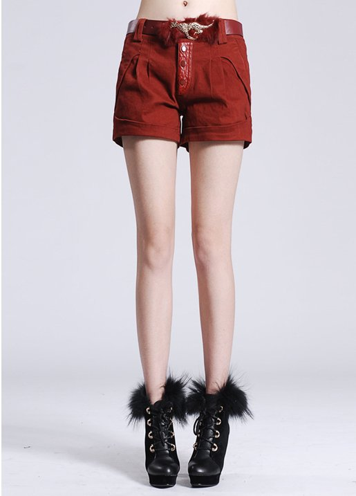 2013 manufacturers supply the Four Seasons paragraph women shorts Wild fight boots Slim pants shorts send belt