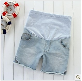 2013 maternity clothing spring fashion summer maternity shorts maternity shorts denim shorts belly pants