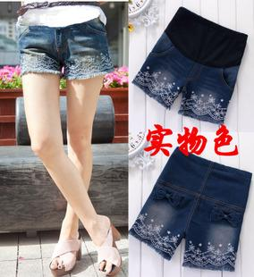 2013 maternity clothing summer maternity pants maternity shorts maternity mu shu denim shorts