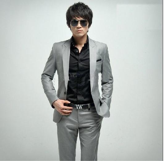 2013 n ew high-end men's suit business suit size; S , M ,L ,XL ,XXL ,XXXL LOLM5 free shipping