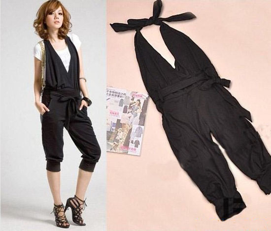 2013 New Brand Fashion Summer Women Lady Jumpsuit Overalls Novelty Pantsuit Suspenders Shorts Pants Free Shipping 182