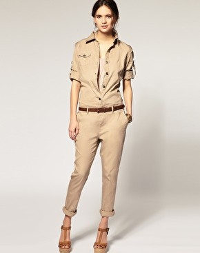 2013 new cotton handsome jumpsuit ,Slim Siamese trousers free shipping