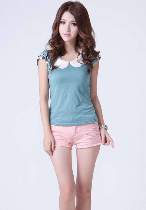 2013 new Fashion Denim Shorts.Spring and Summer Fashion Women's Shorts Free shipping