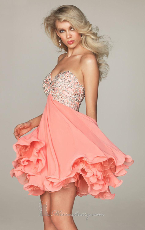 Красивые платья для девушек короткое