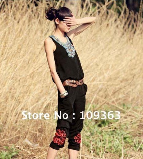 2013 new Fashion Regular Sexy Ladies'Catsuit,Original Casual Union Suit Ladies Rompers,Women's Jumpsuits Free shipping QQ1345