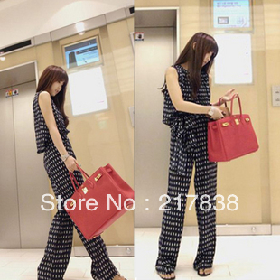 2013 new Fashion Siamese trousers European and American style pants/Rompers free shipping