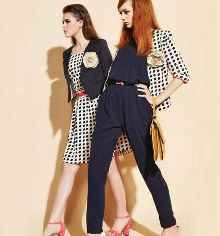 2013 new fashion summer jumpsuit pleated chiffon loose plus size sleeveless casual workwear ol style women green pink navy
