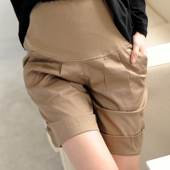 2013 new hot sale casual maternity shorts pregant woman 5 point shorts comfortable abdominal shorts