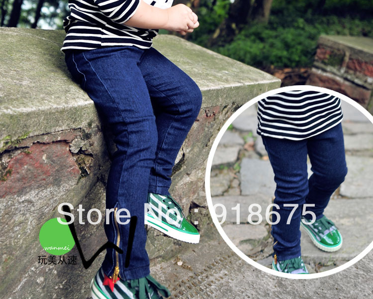 2013 new Kids jeans pants,baby pants,girls jeans,skinny,children clothing,trousers