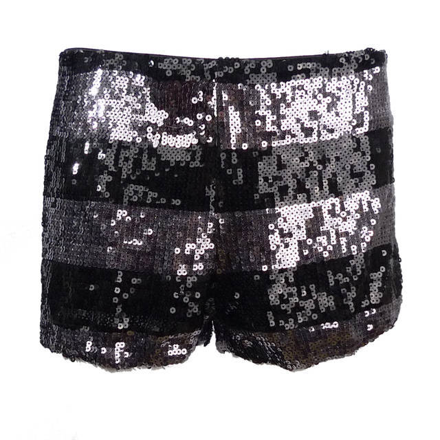 2013 New sexy hot pants shorts club shining short pants women sequins zipper BLNGBLING low waist shorts Free Shipping st8