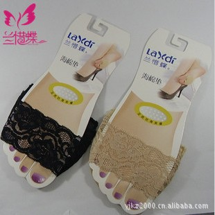 2013 new Spring  Lace socks/insoles/non-slip slippers peep-toe sox super sexy Socks Mat For Women