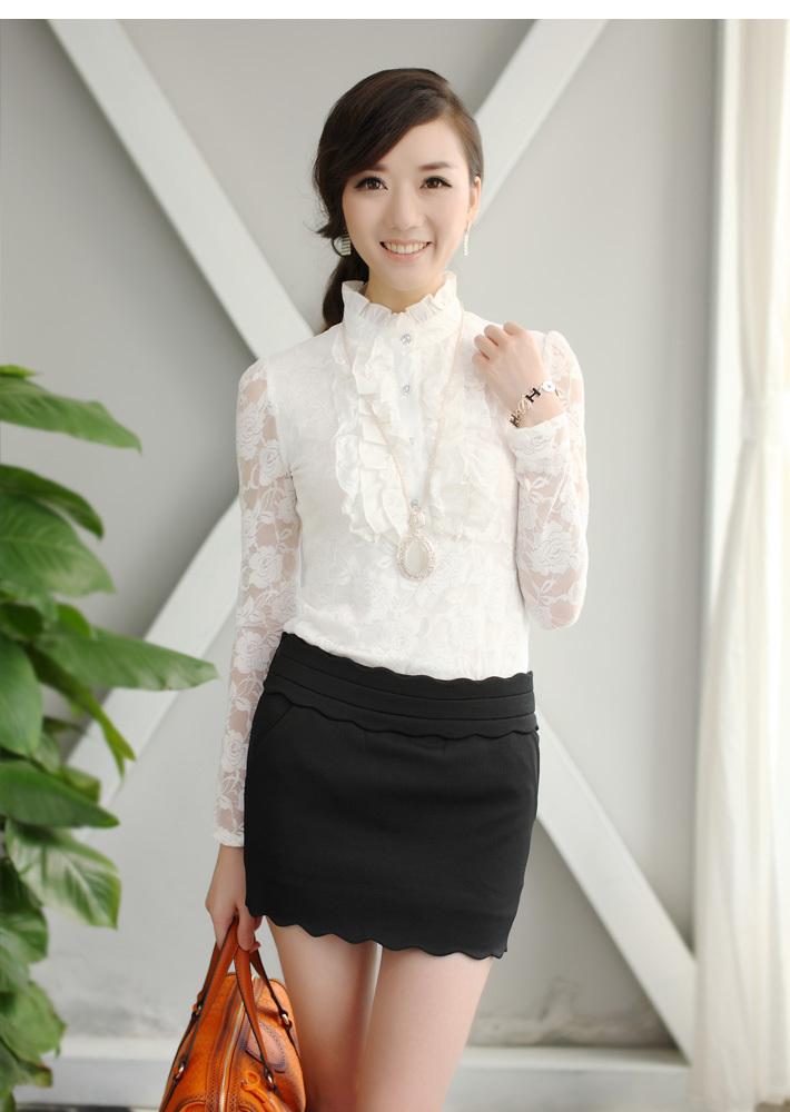 Белая Кружевная Блузка С Доставкой