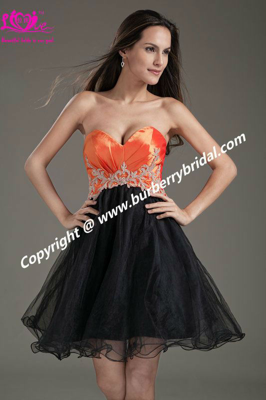 2013 Short Sweetheart Backless Beading Bandage Ball Gown Fashion Prom Gowns Evening/Party Dress