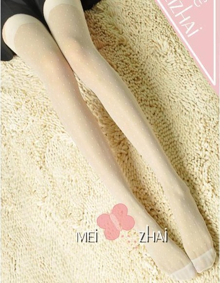 2013 spring and autumn summer women's Core-spun Yarn jacquard pantyhose stockings double legging