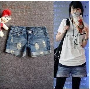 2013 Spring and Summer Lady Denim Shorts,Women's Jeans Shorts,Hot Sale Ladies' Short Pants Size:S M L,XL,XXL Free Shipping