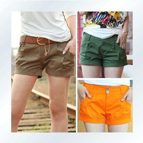 2013 spring new fashion Slim thin leisure shorts