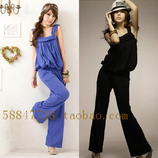 2013 summer clothing Siamese pants trousers