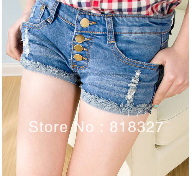 2013  summer denim shorts worn pants