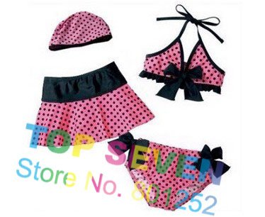 2013 wholesale Baby SWIMWEAR, Girl Swimwear, lovely kids swimwear for 2-6 year old, top quality, 10PCS/LOT, CF