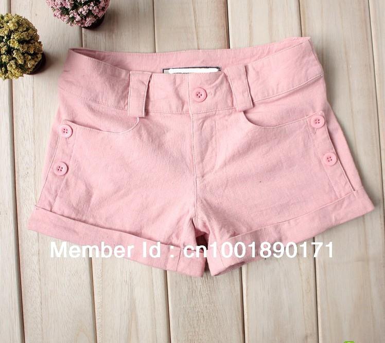 2013 Women Short Pants New Summer Style Hot Pants Fashion Sweet wholesale lady skinny shorts beach pants Free Shing
