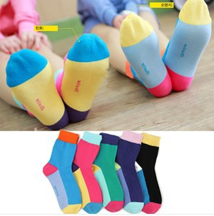 2013New (Random Color) Cute women socks  Clothing adult stockings Men and women Socks Free shipping
