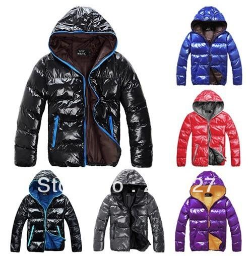 2014 NEW!freeshipping men winter  coat spring fashion waterproof men's women's  hoody wadded jacket cotton-padded coat outerwear