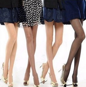 20pairs/lot  free shipping 2011 best selling high stretchy transparency silk pantyhose lady's fashion stocking