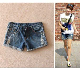 3,676 Korean ladies boots new 2012 leisure pants worn over skinny jeans shorts women