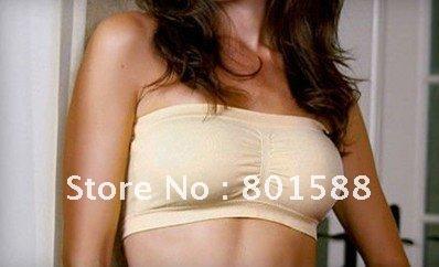 3pcs/lot lady sexy strapless bra tube top
