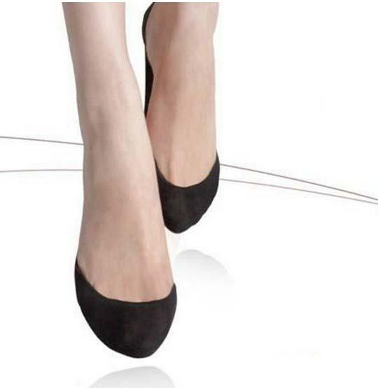50pairs/lot Women thin invisible socks Black / Skin Free shipping