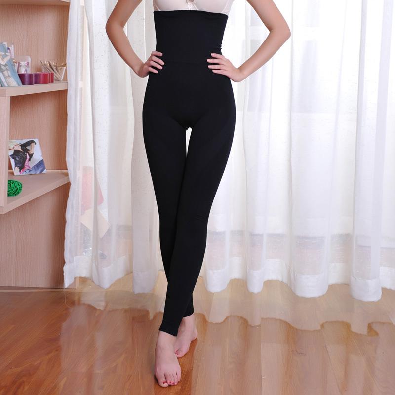 600d ultra elastic pants legs high waist pants legging pants abdomen stovepipe drawing 0011