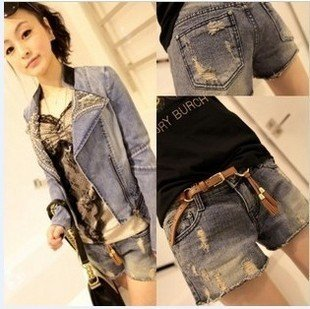 601 the summer of 2012, the new pale old wild cost denim shorts