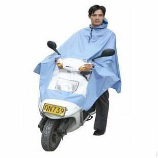 666 oxford material extra large lengthen motorcycle poncho electric bicycle poncho 1 5